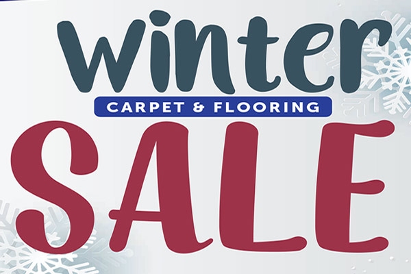 Winter sale at Abbey Carpet and Flooring